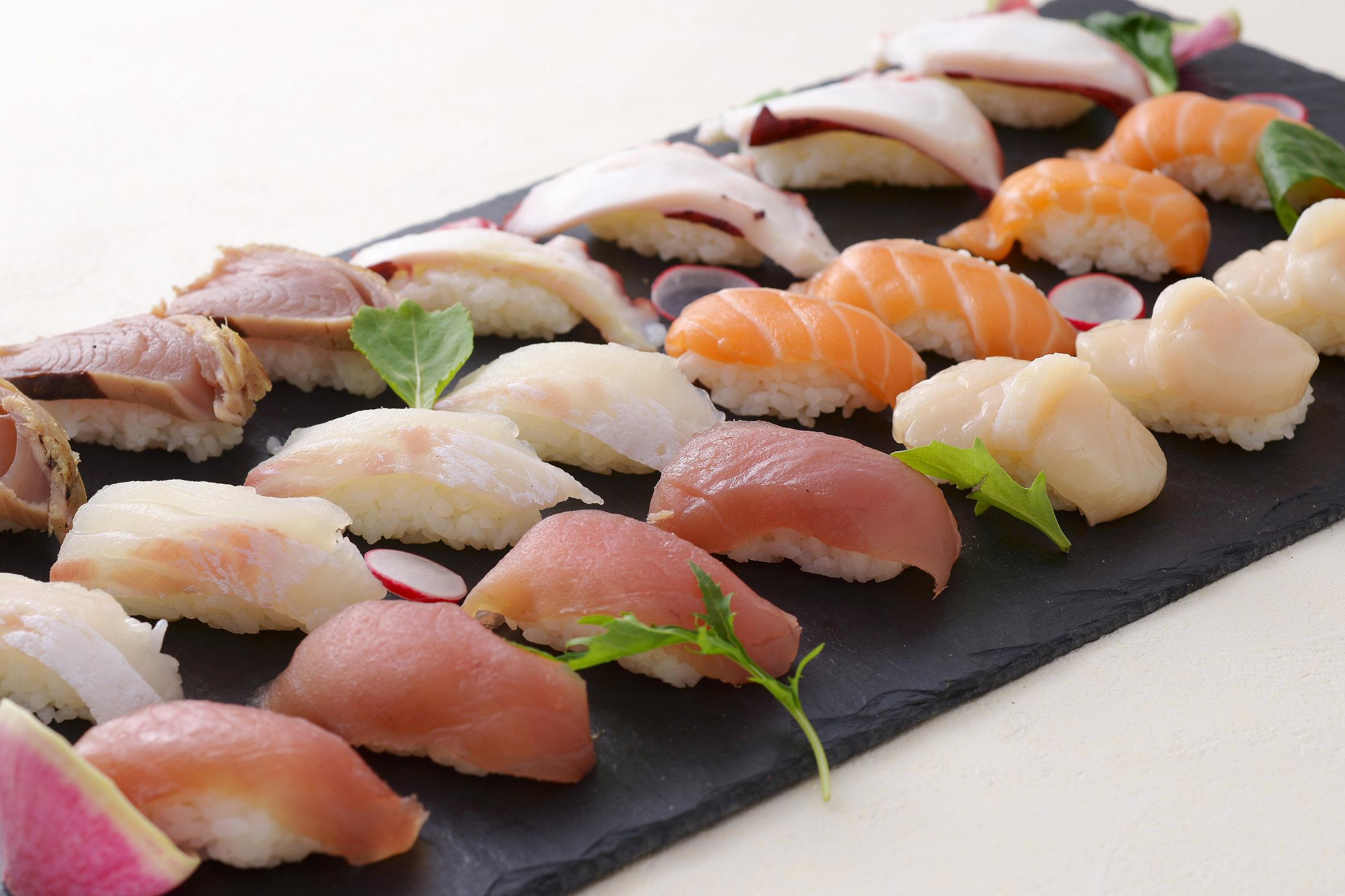 <p>単品寿司</p>